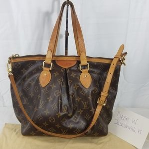 Authentic Preowned Louis Vuitton Palermo PM